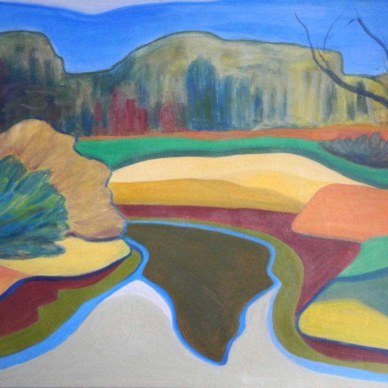 River - Landscapes constructivism - 034