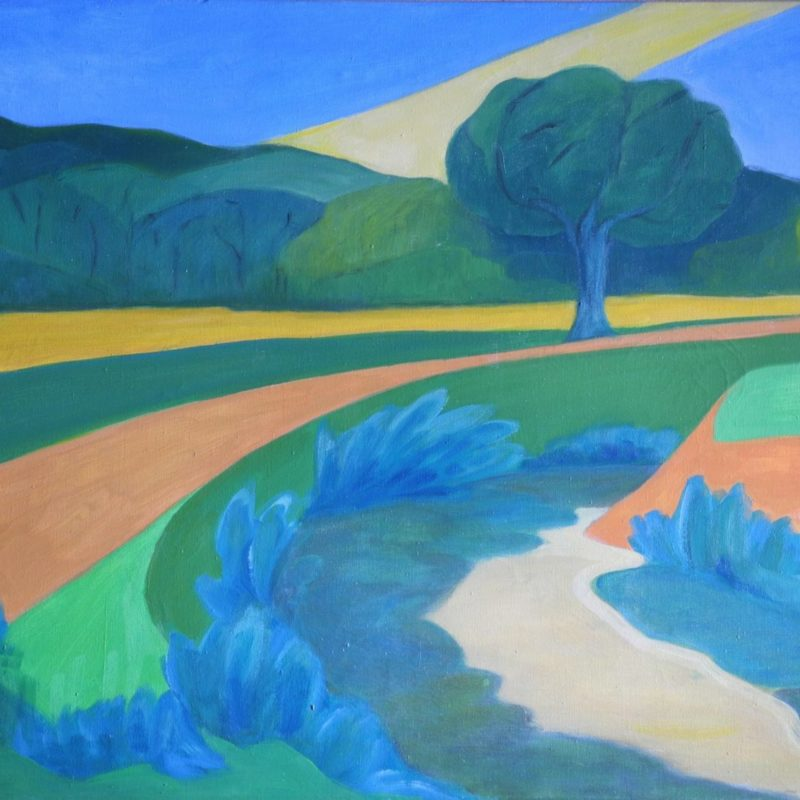 River - Landscapes constructivism - 036