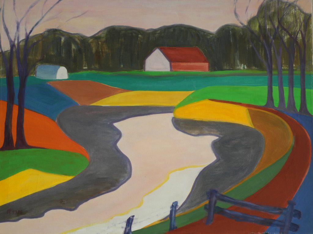 River - Landscapes constructivism - 039
