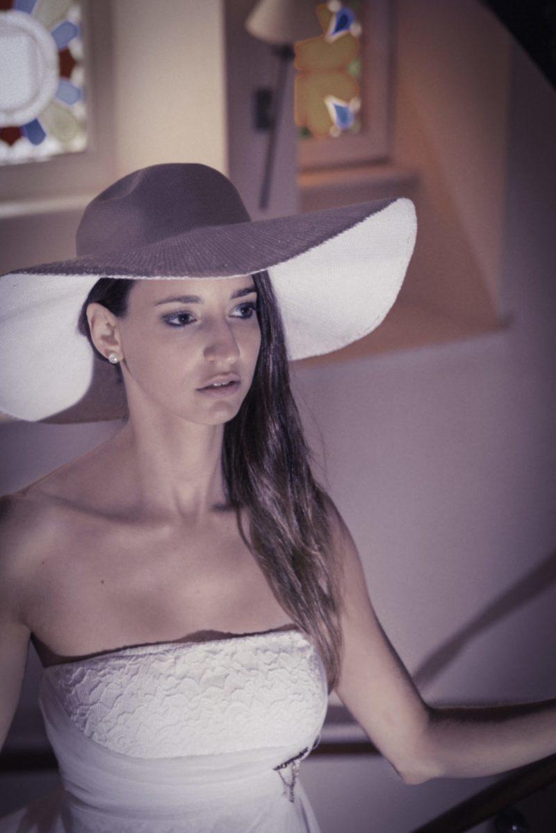 Hotel du Grand Chef – In her white dress 1