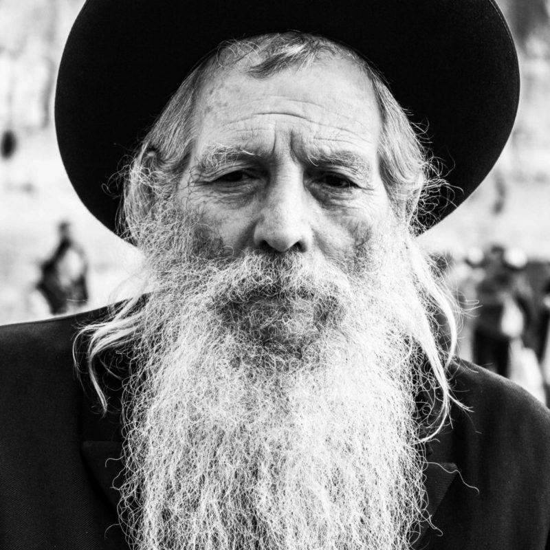 Vieil homme à Jerusalem