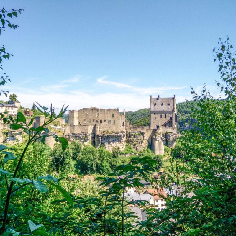 Sneak into the castle