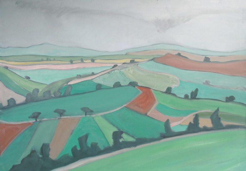 Landschaft 34 – Vallée de Wormeldange 1
