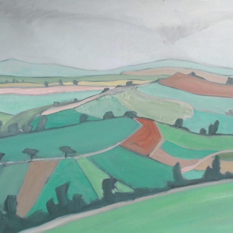Landschaft 34 - Vallée de Wormeldange