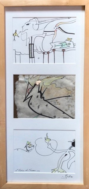 Britt Bernard - L'histoire de l'oiseau